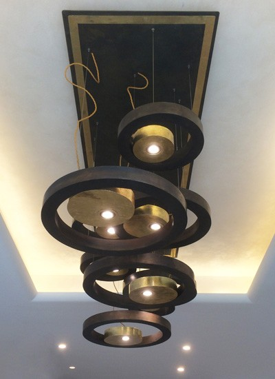 Lamp sculptures