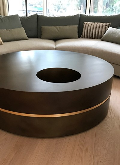 circles table cover