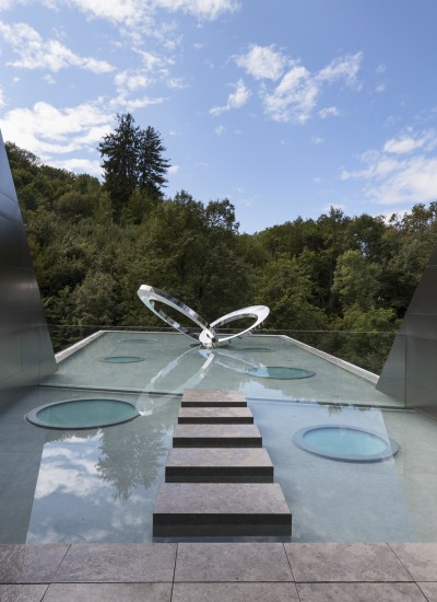 Iron sculpture